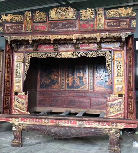 JapanCenter-Chinees-traditioneel-bed